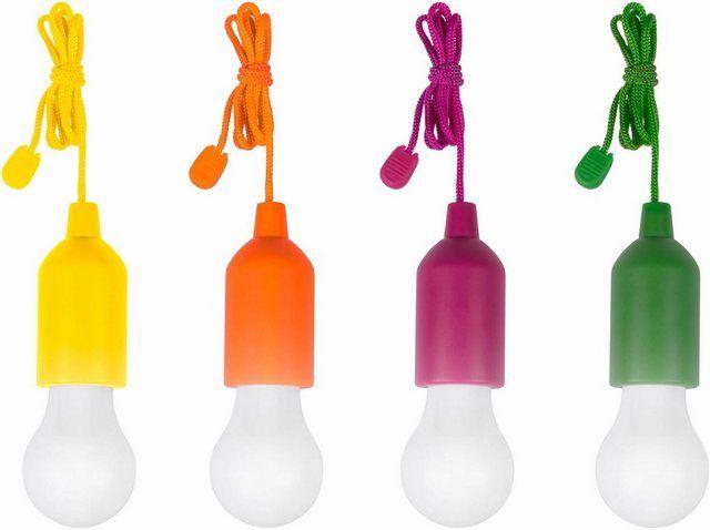 Led Gartenleuchte Handyluxcolors 1 Flammig Kabellose Led Allzweckleuchte 4er Set Led Led Lampe Led Treppenlicht