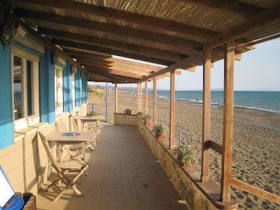 Michelin star restaurant La Pineta at Marina di Bibbona on Tuscany's central coast