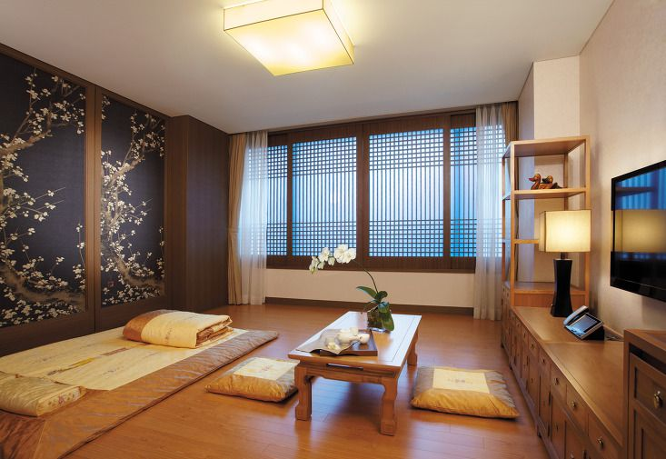 korean living room design