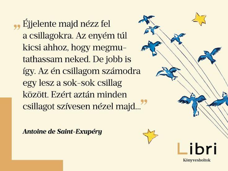 Antoine de Saint-Exupéry idézet a búcsúról. A kép forrása: Libri Könyvesboltok