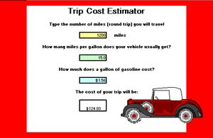 Lesson 2 - Gas Mileage Comparisons