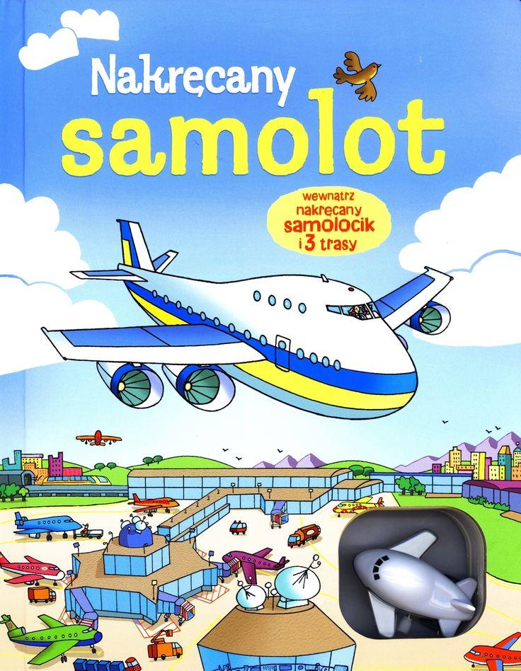 Nakręcany samolot i 3 trasy