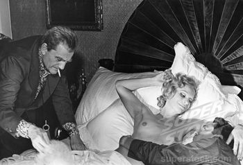 Luchino Visconti, Ingrid Thulin, Dirk Bogarde / The Damned 1969 directed by Luchino Visconti