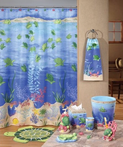 Ocean Decor For Bathroom: Sea Themed Shower Floors