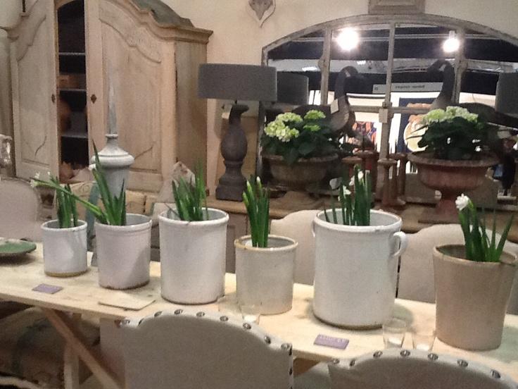 Italian confit pots