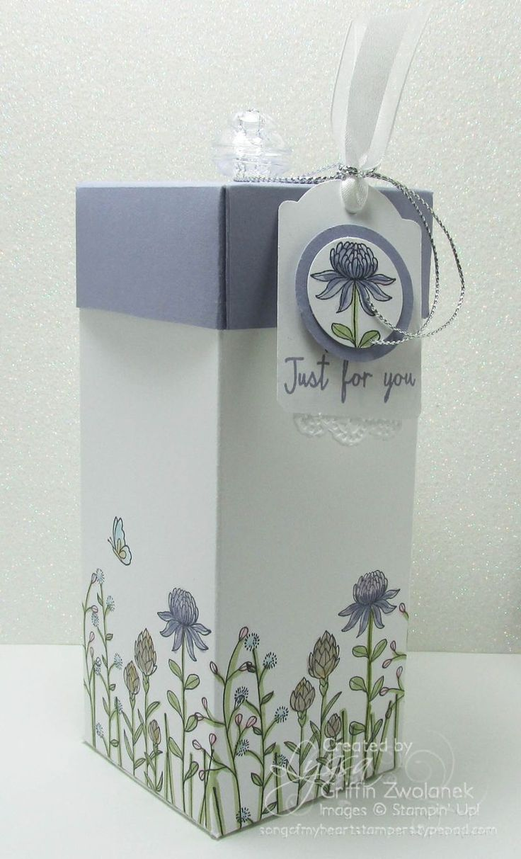 Flowering fields from Stampin' Up!