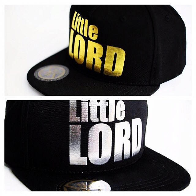 Our popular Little Lord snapbacks are now available for pre-order online at www.kitandkrew.com.au