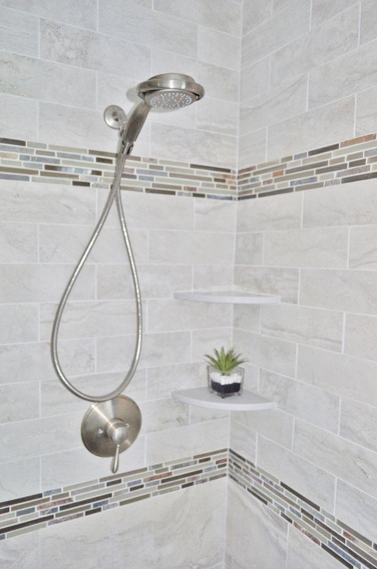 Calgary bathworks calgary bathroom renovations bathroom gallery - Flyzone Spastone Tile Glass Slate Accent Tiles Grohe Fairborn Handheld Master Bath