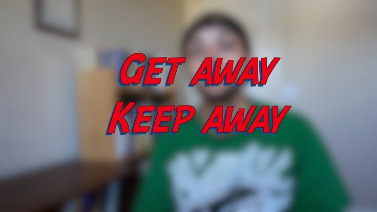 Get away - Keep away - W28D5 - Daily Phrasal Verbs - Learn English online free video lessons