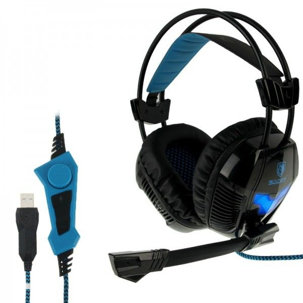 Casque micro PC gaming microphone ajustable USB