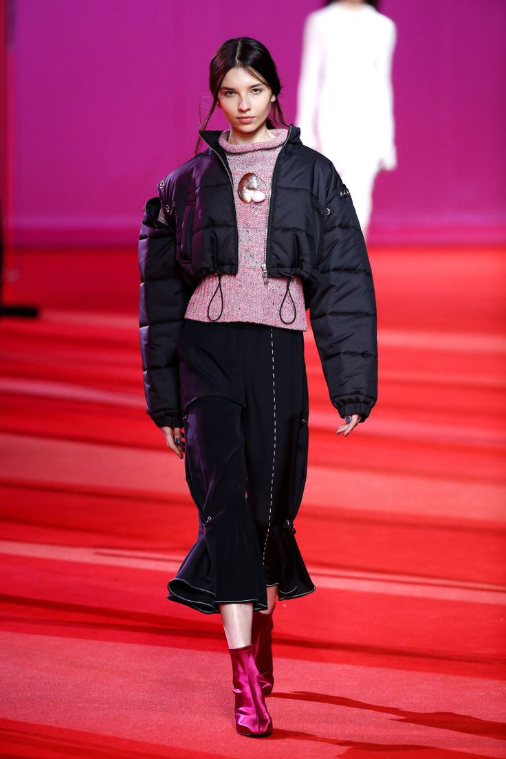 So Many Silhouettes, So Little Time  Cropped over trumpet, as seen here at 3.1 Phillip Lim. Swingy and fluted, over at Prada. Versus just one—jumper and jeans—in your closet right now.