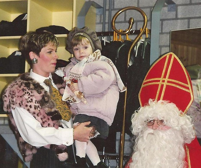 Bij Sinterklaas