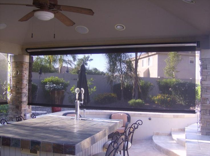Patio roll up shades walmart roll down shades for patios for Roll up screens for porches