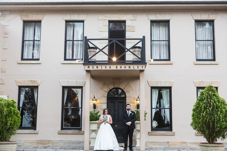 Amazing photo capturing the exterior of Eschol Park House. Taken by Monika Branley Photography | On the grounds of Eschol Park House | Macarthur Wedding Venue