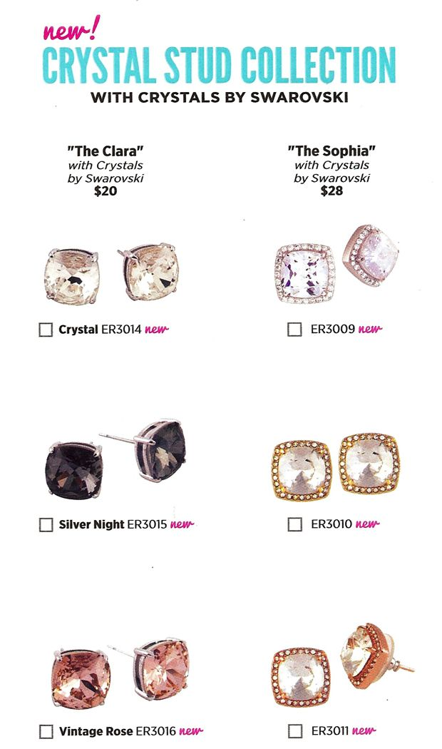 Origami Owl Fall 2014 Collection - new Earrings!!