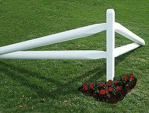 split rail corner fence   Yard Accessories - Cornerstone Fence and Deck - Lancaster, PA