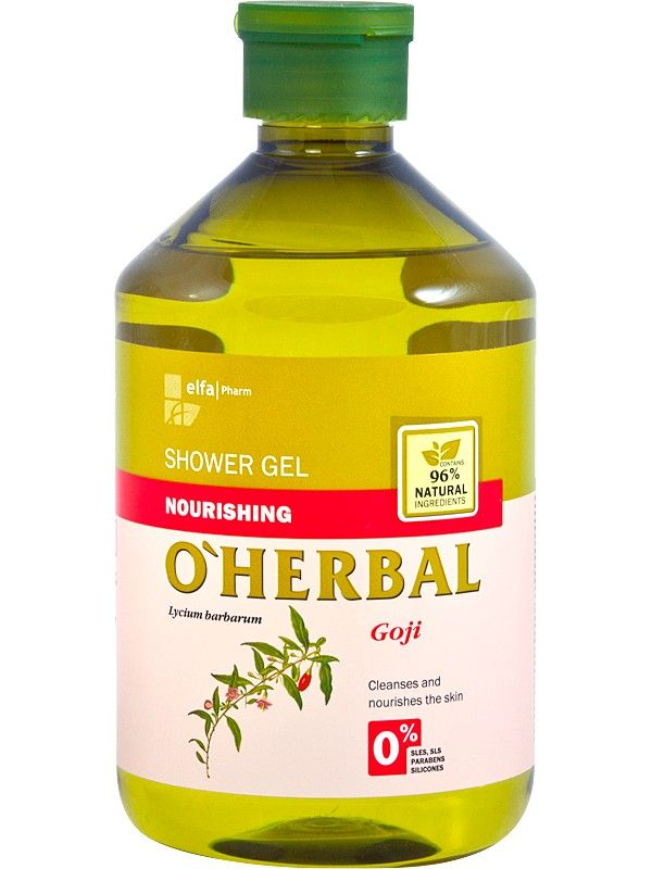 Poze O'Herbal. Gel de dus nutritiv cu extract de goji.