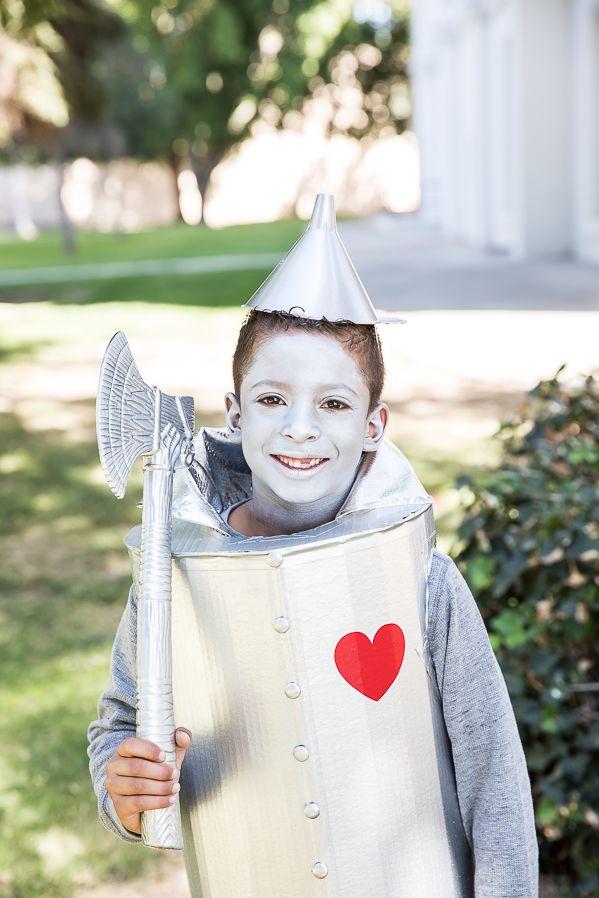 Diy Kids Tin Man Costume Tin Man Costumes Tin Man Halloween Costume Diy Tin Man Costume