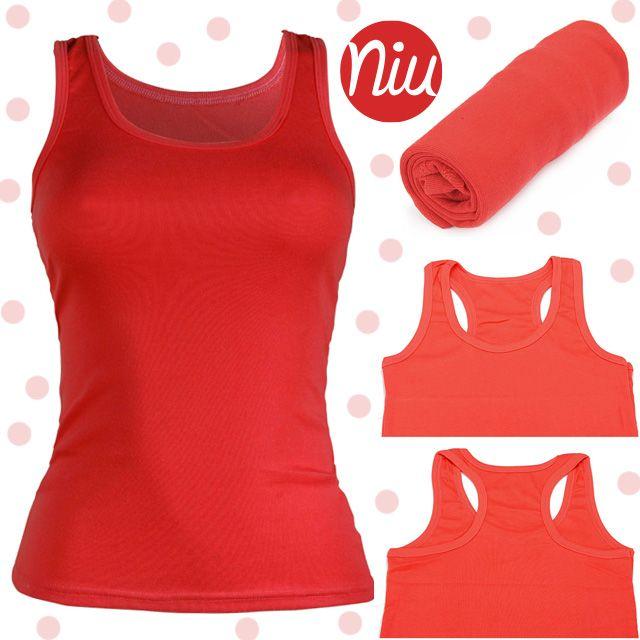 Blusa roja básica, infaltable en tu closet,  encuentra esto y mucho más en: www.niuenlinea.co