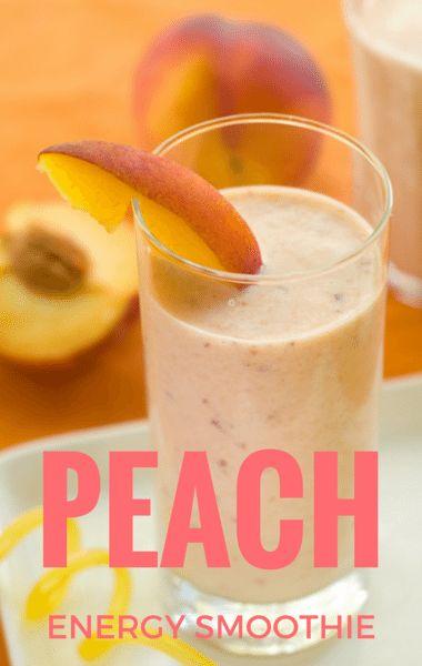 Dr. Oz: Sparkling Peach Protein Smoothie Recipe