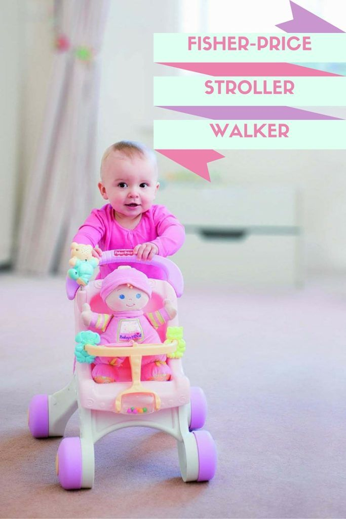 Fisher Price Stroller Walker For Girls  Toddler Boy Toys -6660