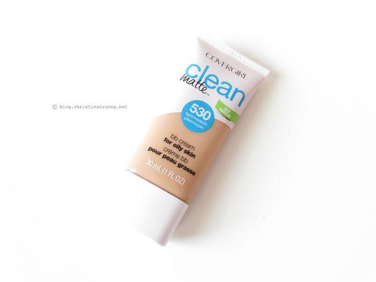 @covergirlxo Clean Matte BB Cream for Oily Skin in 530 Light Medium Review