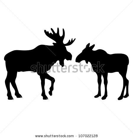 two-moose-love-silhouettes-