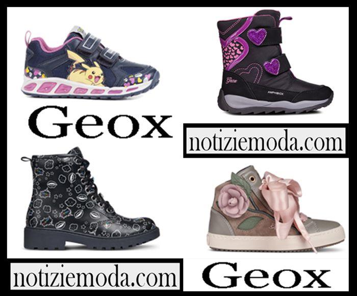 Geox bambina e bambino collezione autunno inverno 20182019