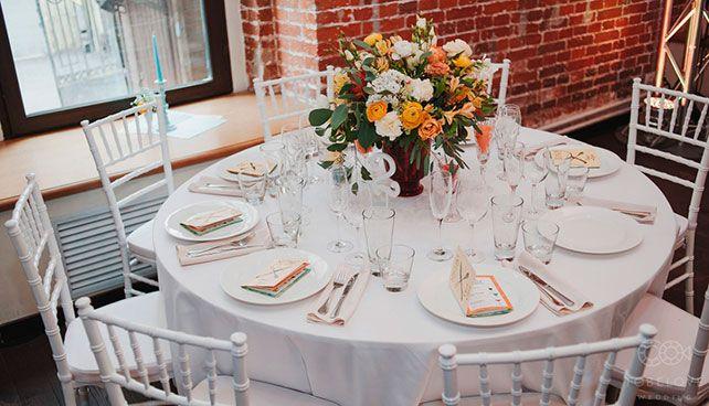 тематическая свадьба стройка