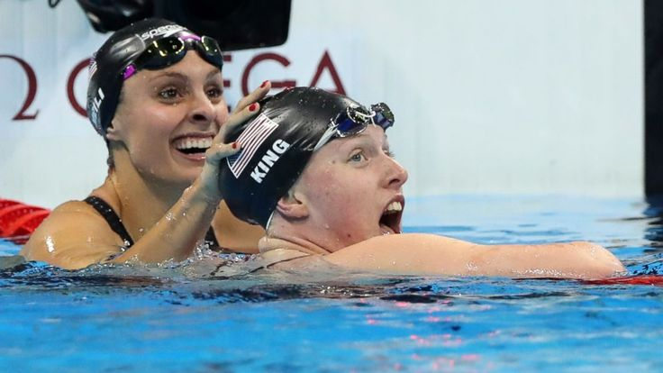 Lilly King Gets Gold in Rio After Doping Spat With Russian -      American swimmer Lilly King put her money where her mouth was and bested Russian Yulia Efimova for the gold in the 100-meter breaststroke Monday ...