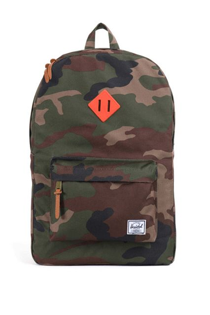 24 Cool Backpacks For A Warmer Commute #refinery29  http://www.refinery29.com/cute-winter-backpacks#slide-5  This camo backpack looks good anywhere.