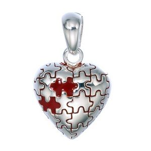 Jig saw puzzle heart, love is sometimes puzzling.