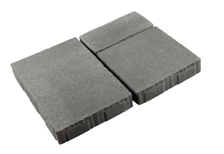 Pavé carrossable multi formats Garonne Les Exclusifs nuancé gris granit 30x30x6,3 cm, 30x45x6,3 cm, 30x15x6,3 cm - LES EXCLUSIFS - Décoration extérieure - Distributeur de matériaux de construction - Point.P