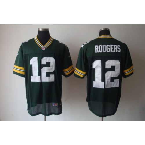 ... nfl jerseys youth Nike Packers Aaron Rodgers Green Team Color With C  Patch Mens Stitched NFL Womens ... 9655c67dc