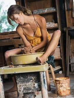 How-to Make Your Own Pottery Wheel. Now that would be great.