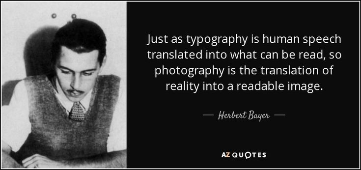 TOP 5 QUOTES BY HERBERT BAYER   A-Z Quotes