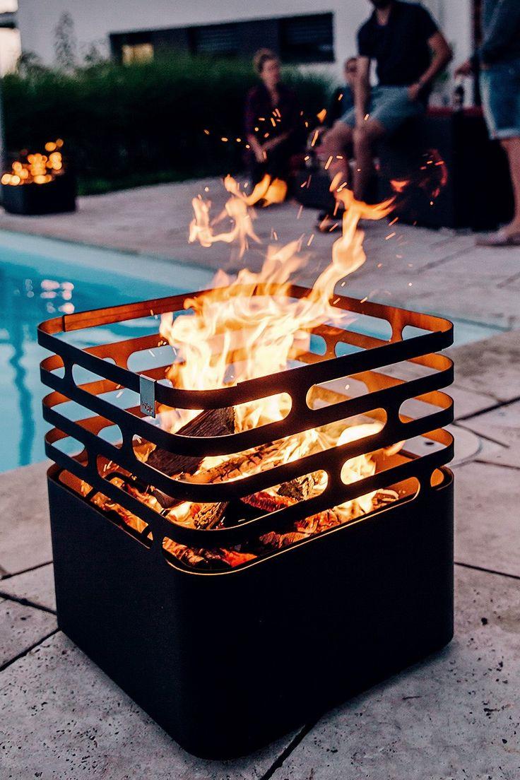 "Multitalent: Feuerkorb ""Cube"" von Höfats – Bild 2"