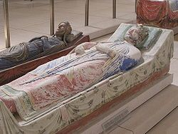 Fontevraud Abbey - Tomb of Richard I of England and Isabella of Angouleme