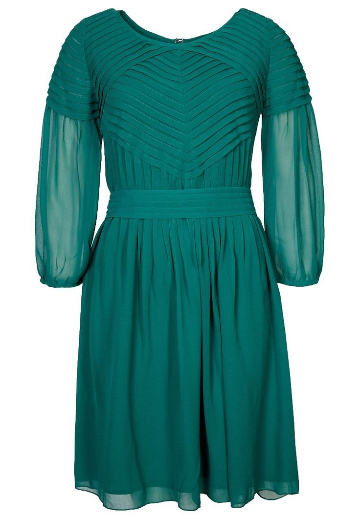 Vestido - camisero - Great Plains - Zalando ❥ Verde esmeralda