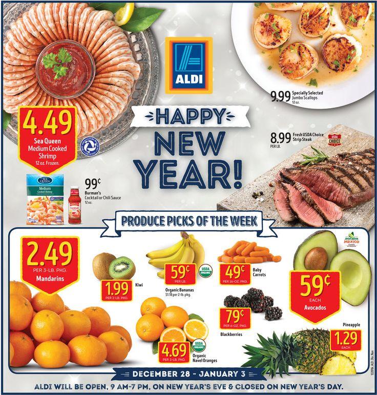 Aldi Weekly Ad December 28 - January 3, 2017 - http://www.olcatalog.com/grocery/aldi-ad.html