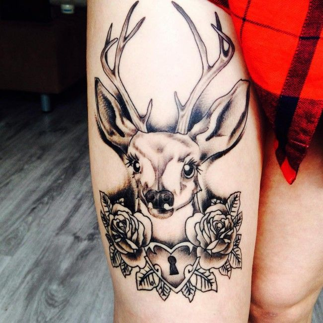 65 Nobel Deer Tattoo Meaning and Designs – Wild Nature