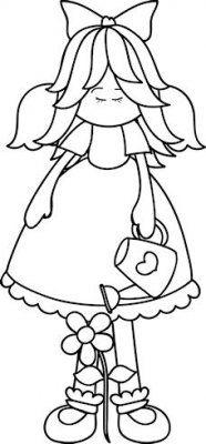 Garden Angel 1 - Craft Pattern