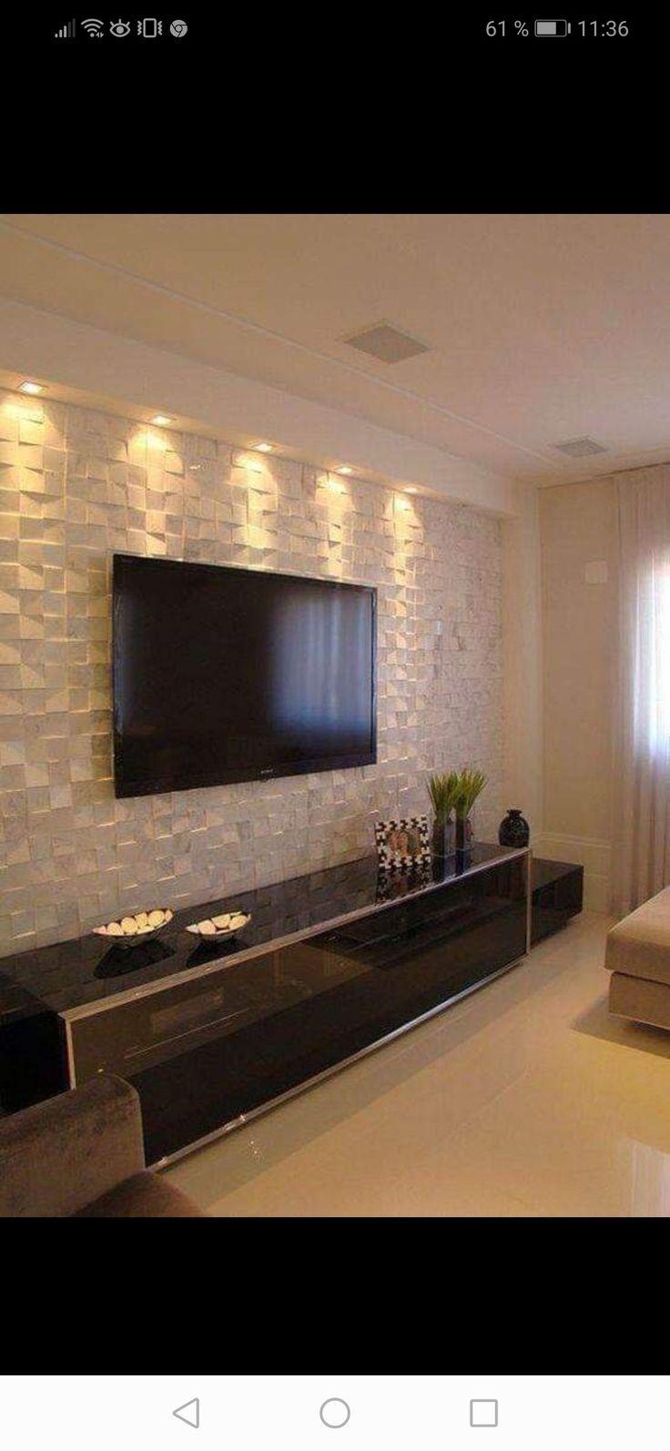 FOTOS (mit Bildern) | Wohnzimmer tv wand ideen, Tv ...
