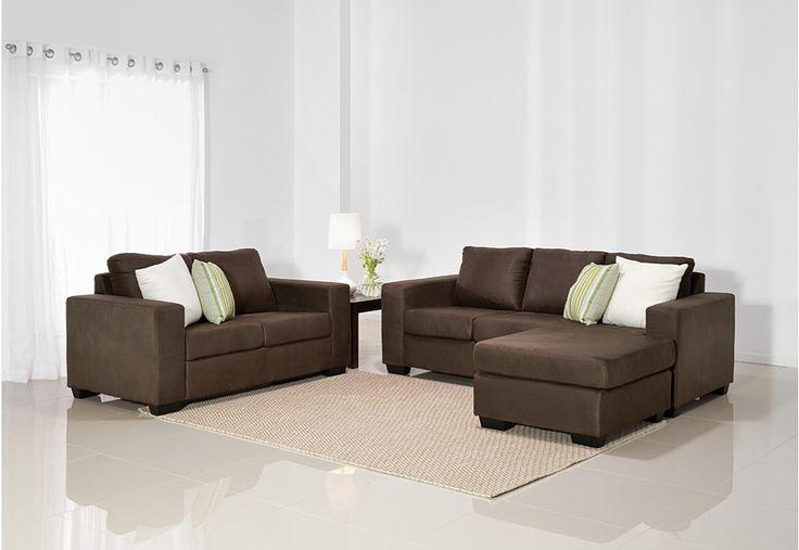 Bonza Sofa Pair | Super A-Mart