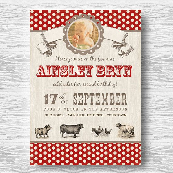 81 best party ideas + mattea's 4th birthday images on pinterest, Party invitations