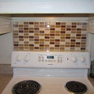 Portable Backsplash for Renters
