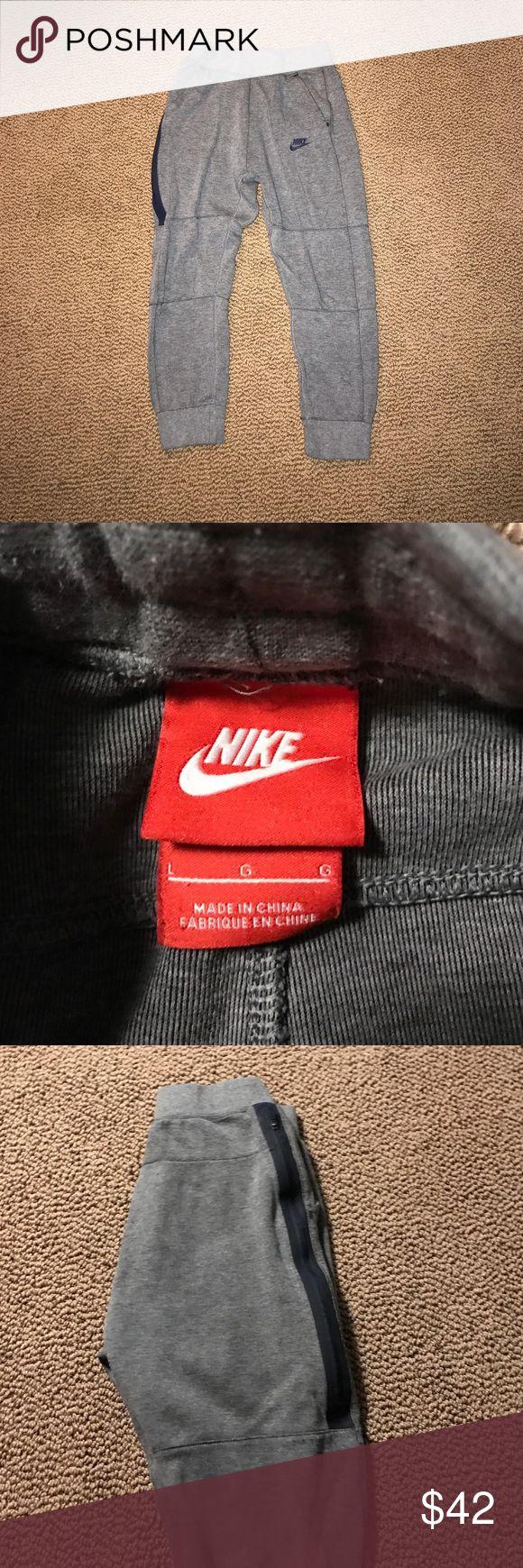Nike tech fleece joggers- Boys large Boys large joggers, only worn twice Nike Bottoms Sweatpants & Joggers