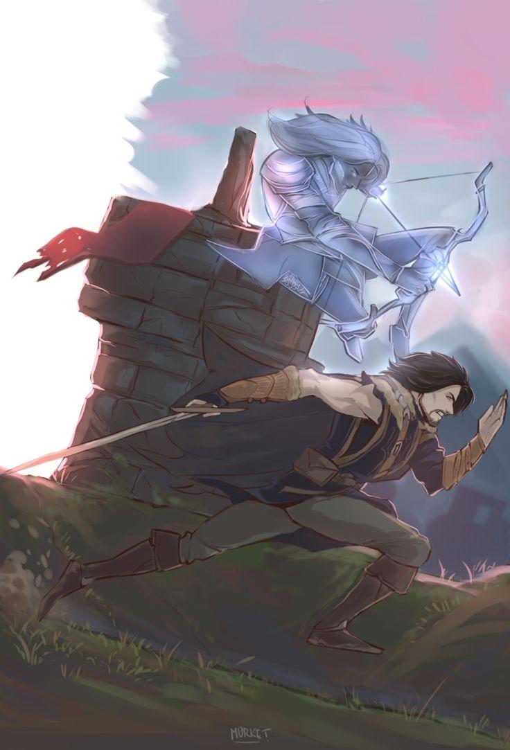 Celebrimbor & Talion from Shadow of Mordor