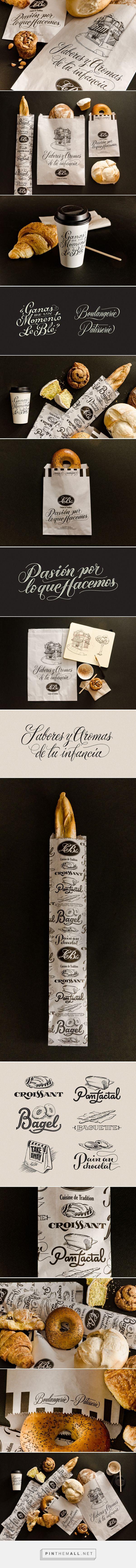 Le Blé Deli Restaurant The Work of Yani Arabena & Guille Vizzari Calligraphy, Lettering, design and Illustration.