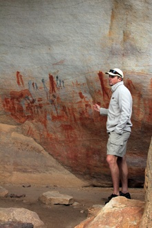 Extraordinary rock art at Bushmans Kloof in the Cederberg mountains